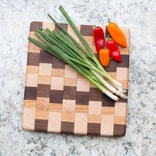 Cooking Board by Stunning Wood Cutting Board Black Walnut Maple Red Oak