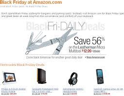 amazon daily deals black friday geektonic 11 23 08 11 30 08