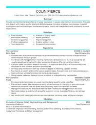 Best Retail Resume by 19 Example Retail Resume Chief Procurement Officer Resume