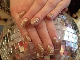 eye candy nails u0026 training gold glitter gel polish by nicola