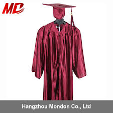 pink cap and gown maroon color children graduation gown only general style buy