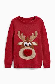 rudolph sweater buy rudolph jumper 3 16yrs from the uk