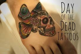 mexican day of the dead and sugar skull tattoos for girls tatring
