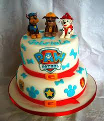 Birthday Cake Decoration Ideas At Home Paw Patrol Cake Dolci Cuccioli Per Il Piccolo Gabriele Paw