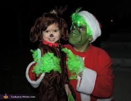 Grinch Halloween Costume Dr Suess U0027 Grinch Characters Family Costume Photo 5 6