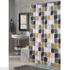 black shower curtain ebay