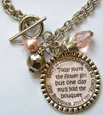 flower girl charms best 25 junior bridesmaid gifts ideas on bridesmaid
