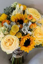 sunflower bouquet sunflower wedding bouquets centerpieces mywedding