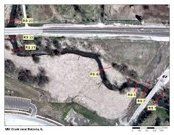 Illinois Flood Maps by N Values Report For Mill Creek Near Batavia Il