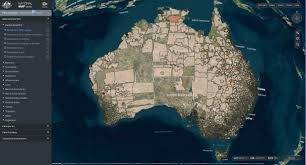 National Map Australia U0027s National Map