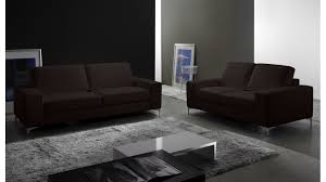 canapé 2 places marron canapé 2 places en cuir pas cher canapé design