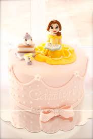 bake a boo princess belle cake