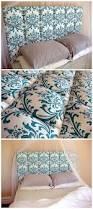 Homemade Headboard Ideas by Easy Upholstered Headboard Tutorial Diy Upholstered Headboard