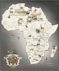 25 unique africa continent ideas on africa map