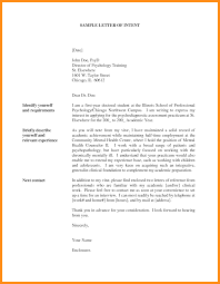Business Letter Of Intent Sample by Resume Letter Of Intent Resume For Your Job Application