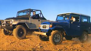 icon 4x4 fj40 1983 toyota land cruiser fj vs icon 4x4 fj fifth gear youtube