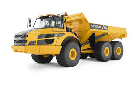 volvo trucks germany articulated dump truck rubber tired diesel for construction