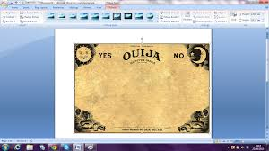 halloween background for word doc abbie dabbie dooo ouija board halloween party invitations