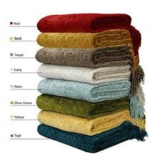 chenille throws for sofas dozzz decorative throw couch chenille throw blanket knitted tweed