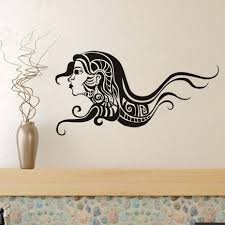compare prices on sex wall sticker online shopping buy low price fashion sex woman with long hair spa beauty salon wall stickers vinyl barbershop decals beauty girls