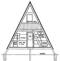 a frame plans free a frame house plans a frame house plan with deck a frame house plan
