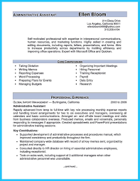 resume format for experienced administrative manager responsibilities sle administrative resume support assistant skills australia