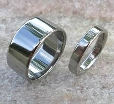 matching titanium wedding bands matching titanium wedding band set stn12 titanium rings studio