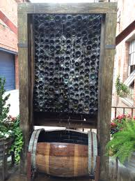 gabion deco jardin gabions and bottles bench home pinterest gabion wall