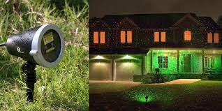 Landscape Laser Lights Today Only Amazon Has The 1byone Outdoor Laser Light Projector