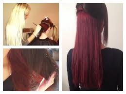 red hair dying hair red tutorial youtube
