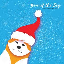 happy lunar new year greeting cards 2018 year of the dog happy new year greeting