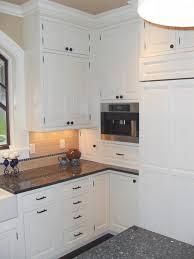 white shaker kitchen cabinets houzz