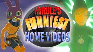 home design game videos hyrule s funniest home videos best of zelda breath of the wild