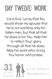 Challenge Not Working 31 Days To Pray For Your Spouse Challenge Congratulations And