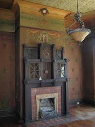 found in 1895 classical revival home living room furniture