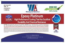 Quality First Basement by Epoxy Platinum U2013 Waterproof America