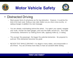 thanksgiving safety brief motor vehicle safety commander s