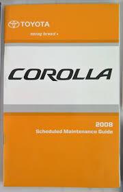 2008 toyota corolla owners manual 2008 toyota corolla owners manual guide book bashful yak
