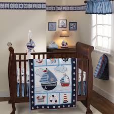 Curly Tails Crib Bedding Sail Away Crib Bedding By Bedtime Originals Lambs