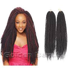 soul twist bulk hair 2016 hot africa folded senegalese synthetic hair extension 18 inch
