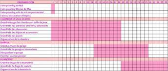 fiche d organisation cuisine fiche pdf pour le carnet organis la fiche des planning