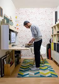 tapis bureau ikea bureau tapis habitat range carnet maison du monde