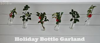bud vase garland december 13 bottle garland
