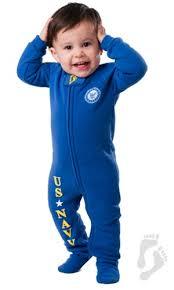 u s army footed pjs infant u s navy footed pajamas one