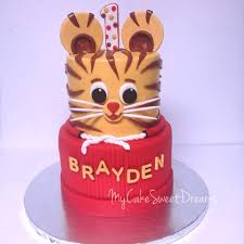 daniel tiger cake my cake sweet dreams daniel tiger 1st birthday cake