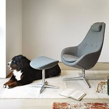 Ergonomic Arm Chair Kokon Variér Ergonomic And Swivel Armchair With Footrest