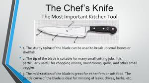 most important kitchen knives warm up knife skills in your notebooks answer the questions what