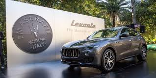 navy blue maserati maserati levante pricing and specifications 139 990 opening for