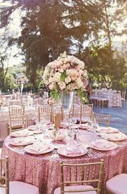 bamboo plates wedding blush pink sequin linen wedding sweetheart table idea