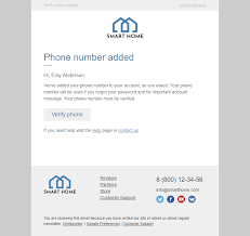 Home Decor Industry Confirmation Email Template Necessary Security For Furniture